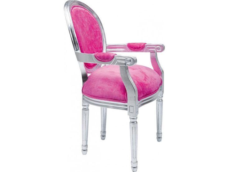 Krzesło Louis I różowe — Krzesła Kare Design — sfmeble.pl