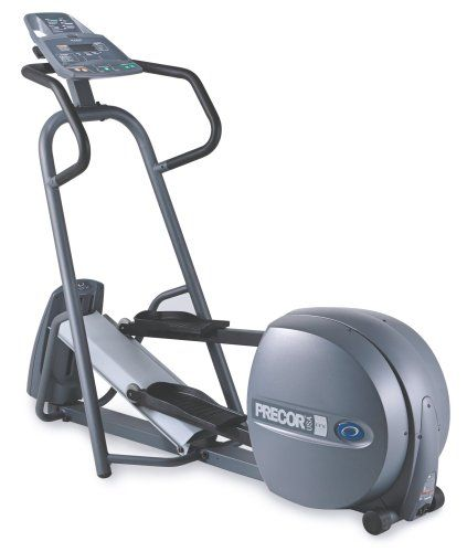 This EFX 5.17i is new and unused from the manufacturer, and includes the full manufacturer's warranty. The Precor EFX 5.17i Elliptical CrossTrainer makes it easy to stay with your exercise routine and reap the benefits of a life in motion. The 5.17i CrossRamp angle adjusts from 12 to 25 degrees, altering the height of the elliptical path. Called Variable Stride Geometry, this allows you to focus on a specific lower body muscle group...