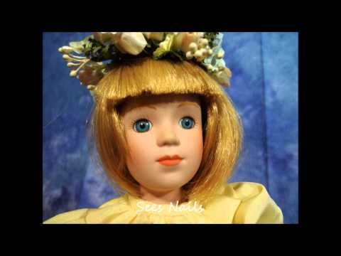 The Danbury Mint Auth Royal Doll Collection pt1 | Sees Nails | Pinterest | Danbury mint, Dolls and Nails