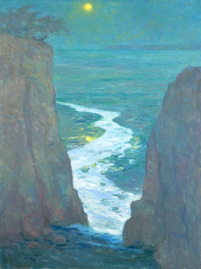 "S. Burkett Kaiser, American Impressionist.  ""Canon in D Major"""