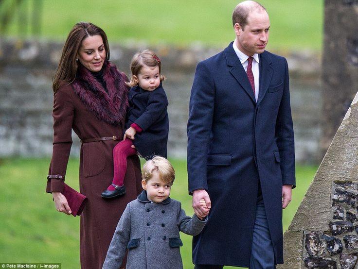 Royal family Christmas 2016