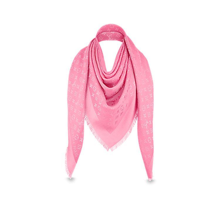 Châle Monogram Femme Accessoires Écharpes et foulards | LOUIS VUITTON