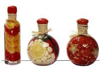 Декоративные бутылки для кухни. Обсуждение на LiveInternet - Российский Сервис Онлайн-Дневников