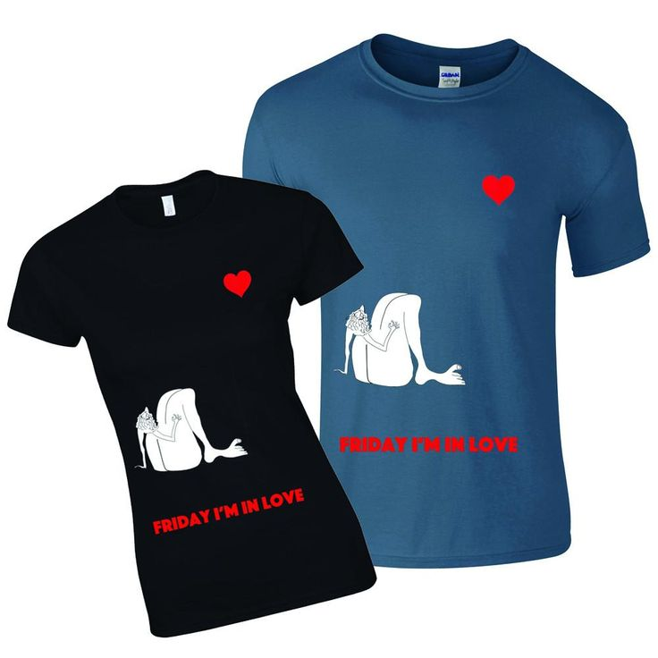 Matching couple shirts, valentines day gift, seagull tee shirts, lovers present, husband and wife, partners shirt