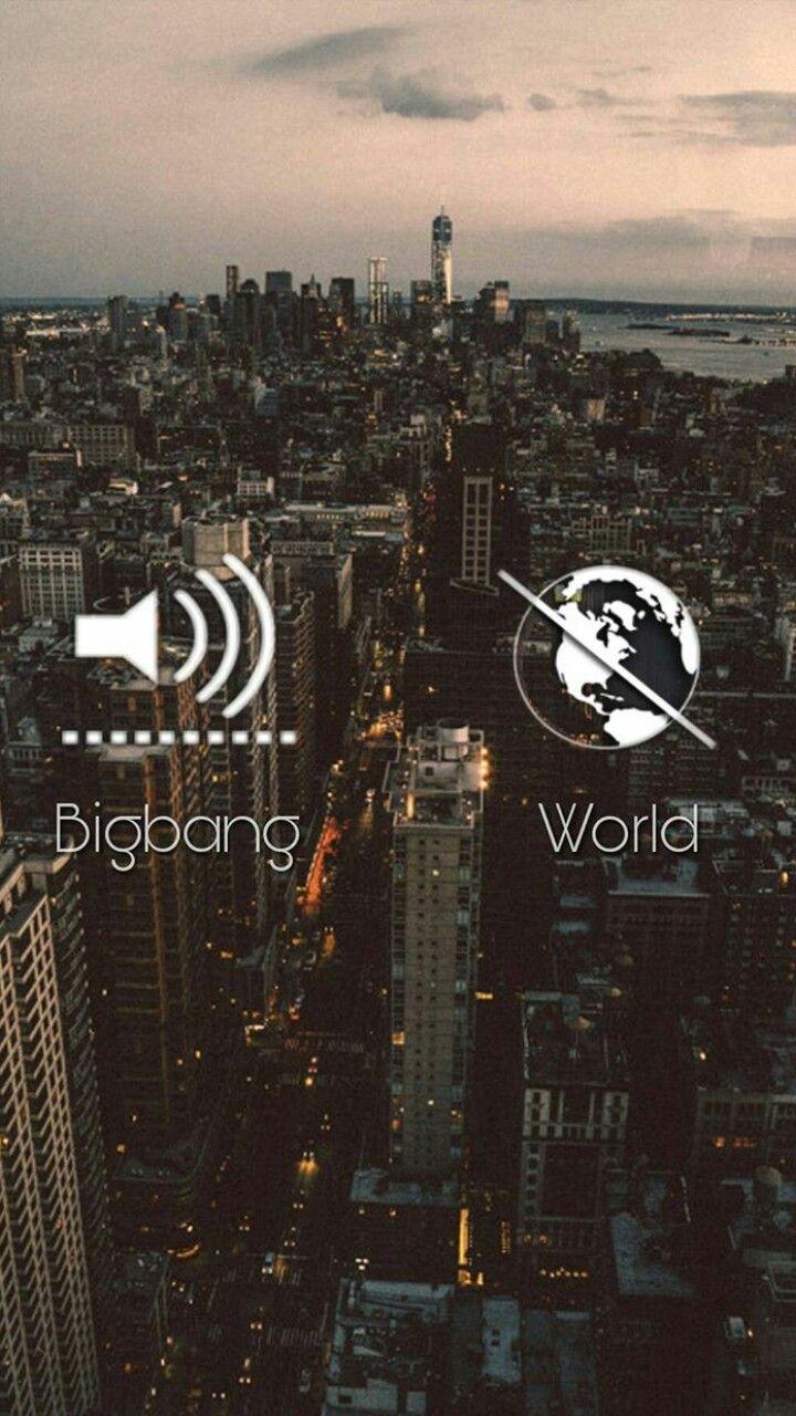 Bigbang is different.