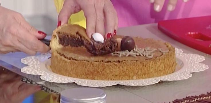 Tra le ricette dolci La prova del cuoco oggi 13 aprile 2017 la ricetta della torta al cioccolato di Natalia Cattellani