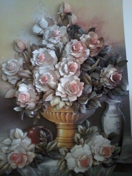 Kağıt rölyef tablo