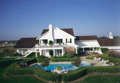 Southfork Ranch, Texas.  Location of outdoor filming of the TV show 'Dallas'.
