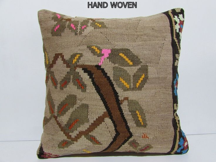 kilim pillow 24x24 large kilim pillow 24x24 pillowcase large decorative pillow euro pillow cover large pillow sham large kilim rug old A6 by DECOLICKILIMPILLOWS on Etsy https://www.etsy.com/listing/251439319/kilim-pillow-24x24-large-kilim-pillow