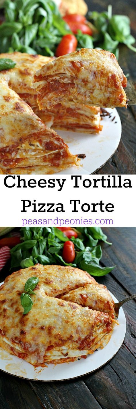 4 Ingredients only, delicious and cheesy Pepperoni Tortilla Pizza is a breeze to make, perfect for a hearty, quick and easy weeknight dinner.