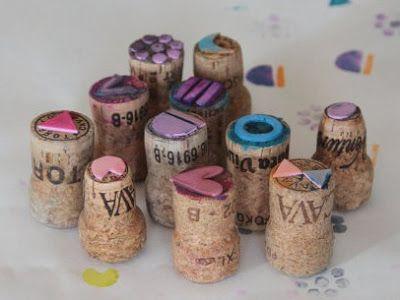 Cómo hacer sellos con goma eva ~ Portal de Manualidades