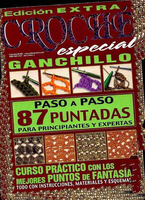 Mil Tejidos: Edicion Especial de Puntadas - Revista Croché