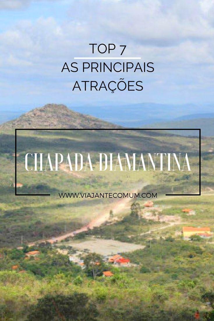 As principais atrações na Chapada Diamantina pra um roteiro de no mínimo 4 dias! A Chapada é apaixonante!
