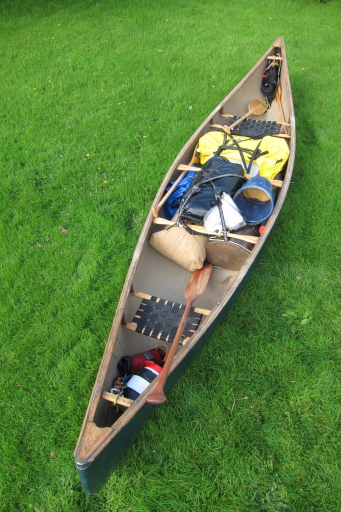 Canoe Camping part 2, written for Tentipi by Tim Gent