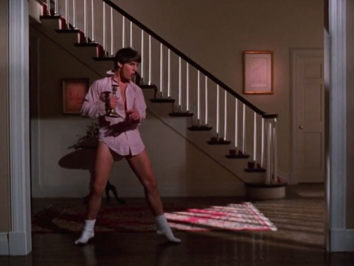 Risky Business (1983): When Joel Goodson (Tom Cruise) gets the house to himself and rocks out in his underwear to the music of Bob Seger.