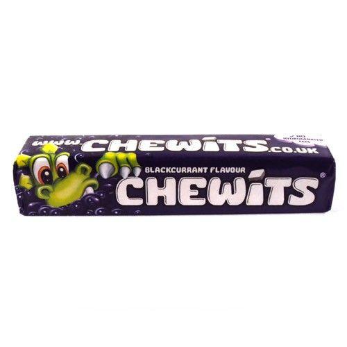 Chewits - Blackcurrant - Mustaherukka