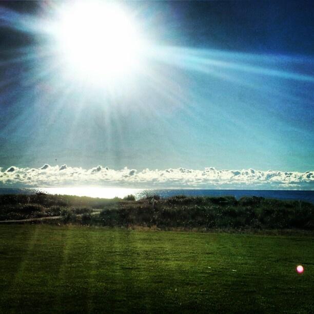 sunrise over lake michigan. sheboygan, wi