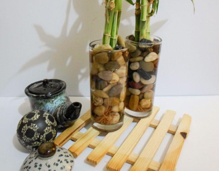 Evde Bambu Çiçek Dekorasyon Yapılışı