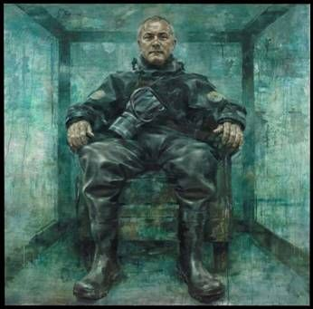 New portrait of Damien Hirst to go on display in London - gramilano