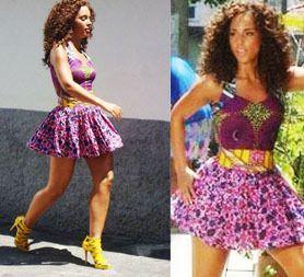 Alicia Keys Pagne
