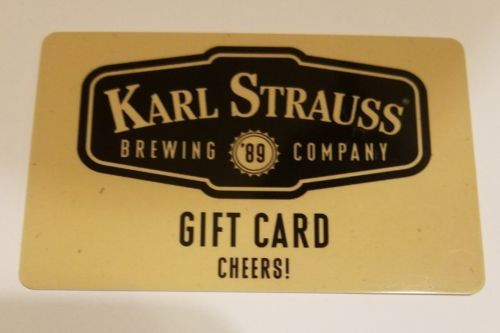 #Coupons #GiftCards Karl Strauss Gift Card #Coupons #GiftCards
