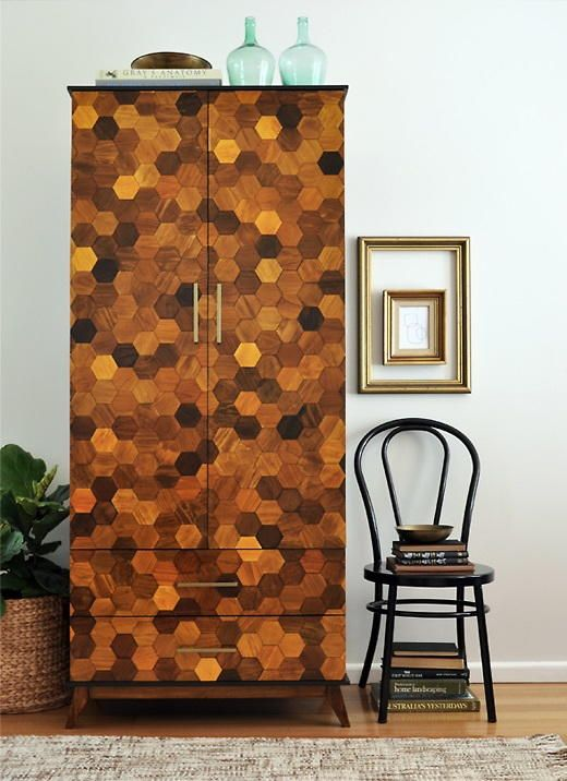 Amazing Wardrobe Furniture Makeover | You have to see the incredible transformation from this furniture upcycle!