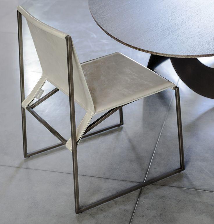 european furniture - Modern dining chair by Arketipo