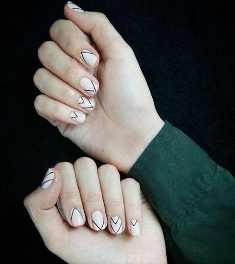 Модные дизайн гелевых ногтей