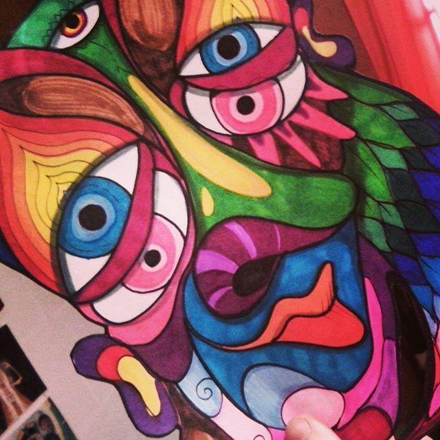 #art #artist #arte #fullcolors #colorful #draw #drawing #ilustracion #illustration #dibujo #dibujando #color