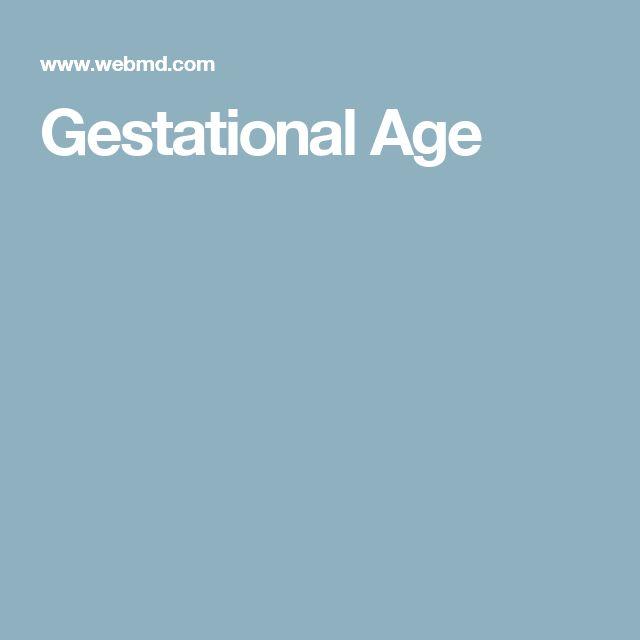 Gestational Age