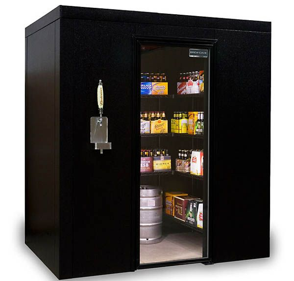 Walk-In Beer Cooler and Kegerator, Because This Is America.