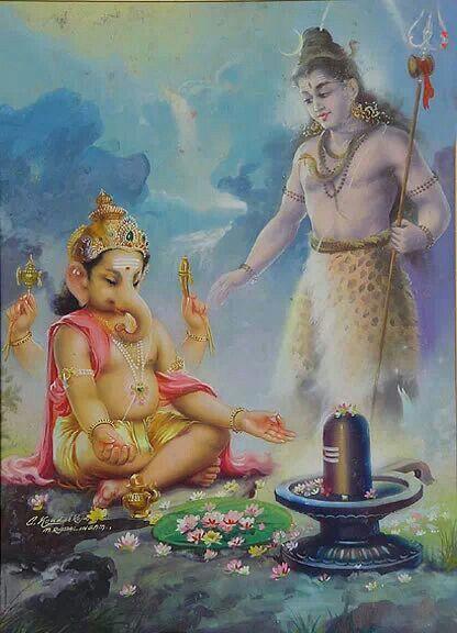 Shiva n Ganesha