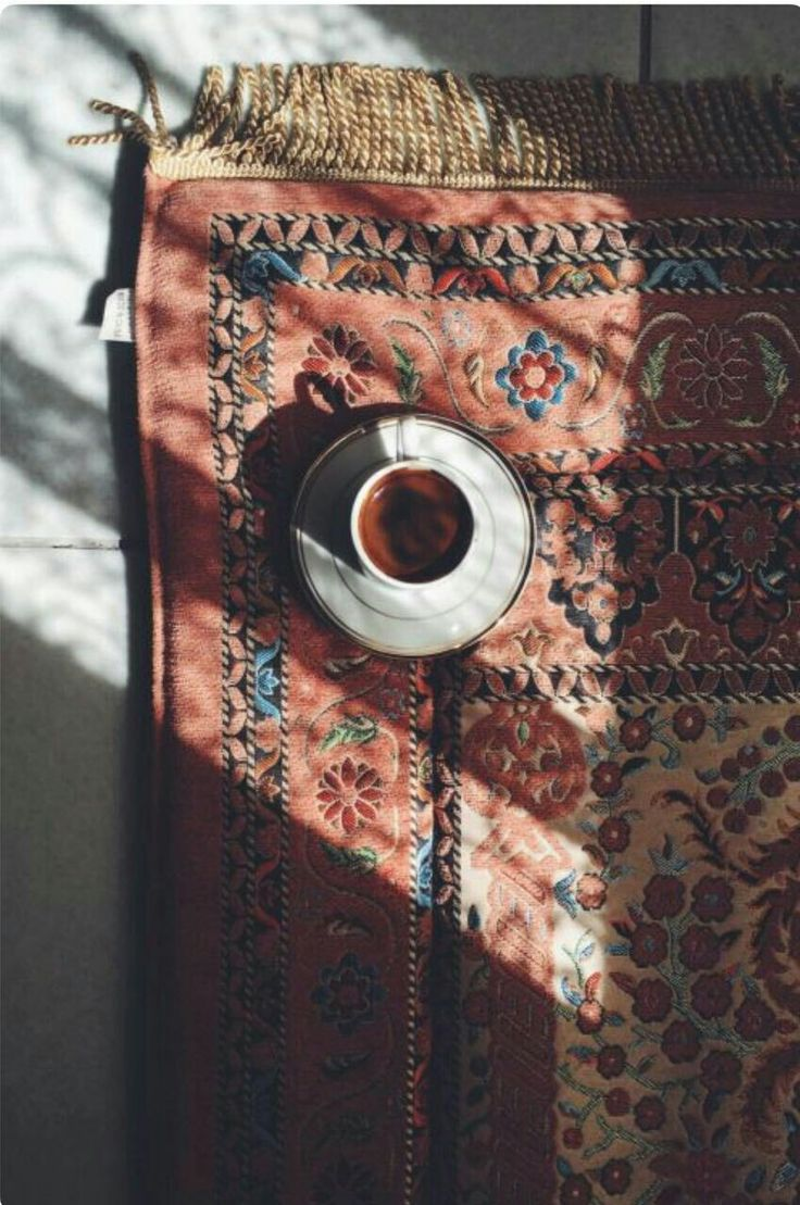 This picture of morning coffee and The sunshine reminds me of my early morning ritual of my time with My Lord than my morning coffee and the feel of the warm sunlight thru my window. ;)