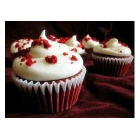 Dessert Red Velvet Cupcakes w/cream cheese frosting Mix