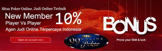 Untuk Mendapatkan Pilihan Terbaik Situs Poker Online Di Indonesia, Seharusnya Kriteria Poker Online Yang Baik & Pastinya Sudah Terpercaya  Seperti 99Onlinepoker