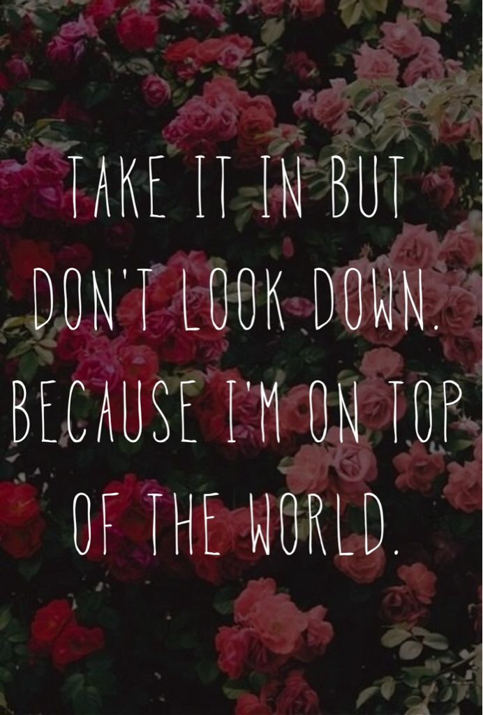 On Top Of The World By Imagine Dragons Music Pinterest Imagine