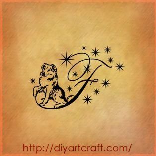 Letter P Tattoo Designs