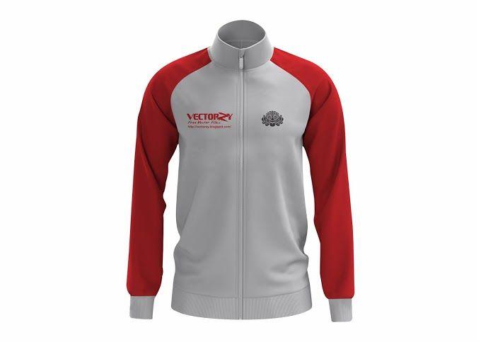 Download Download Mockup Jersey Coreldraw Cdr Gratis Jaket Pakaian Pria Pakaian