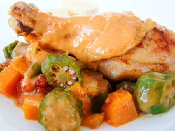 Traditional Angola - chicken muamba... - I Cook Different, ,