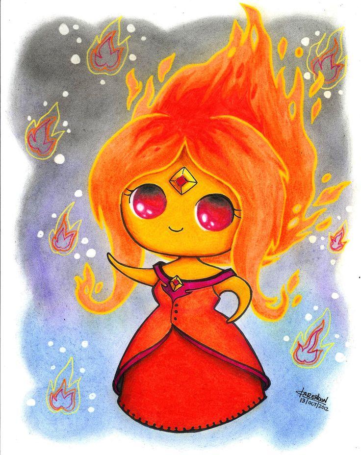 Flame Princess by Karen-Toon.deviantart.com on @deviantART