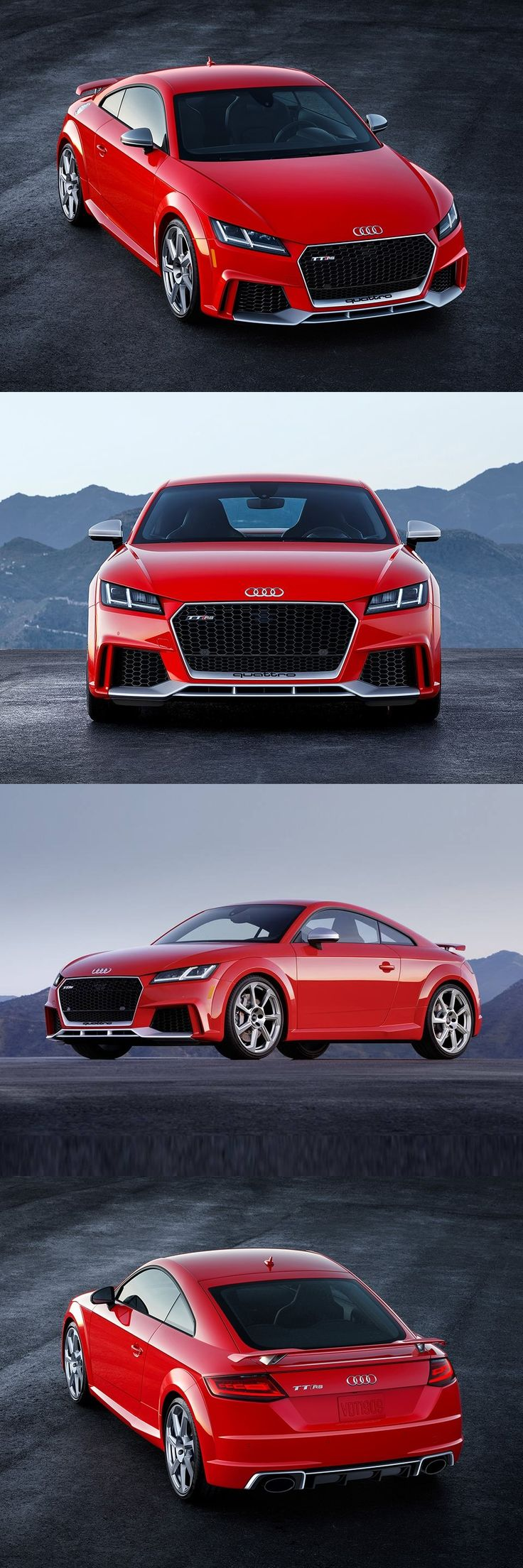 400 HP 2018 Audi TT RS Coupé, the most powerful TT ever produced is all set to debut at New York International Auto Show, priced at $65K.