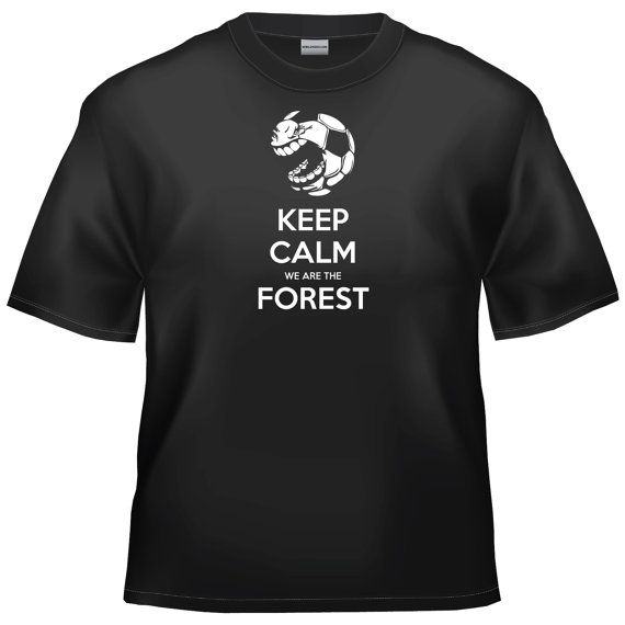 Nottingham Forest - Keep calm we are the Forest t-shirt