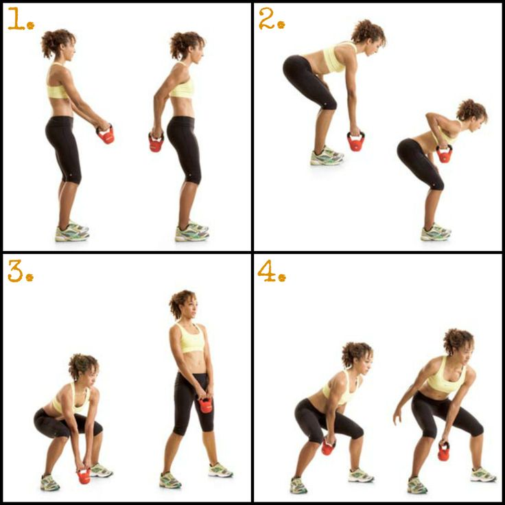 New Kettlebell Exercises For Your Workout Routine: 78 Best Images About Workout Sheet On Pinterest