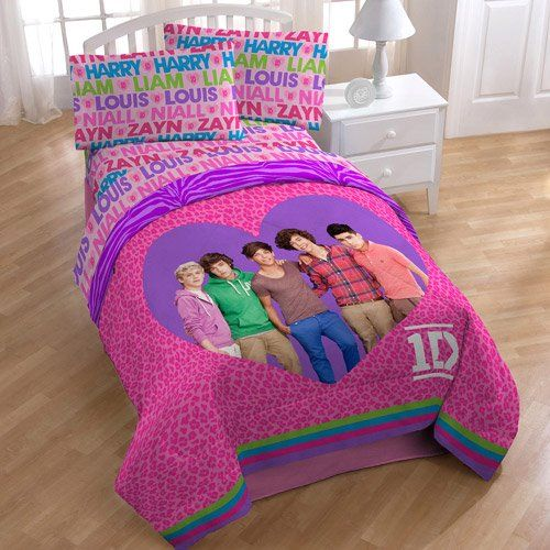 Elegant Black Friday Online One Direction 5pc Full Comforter And Sheet Set Bedding  Collection Sale Deals