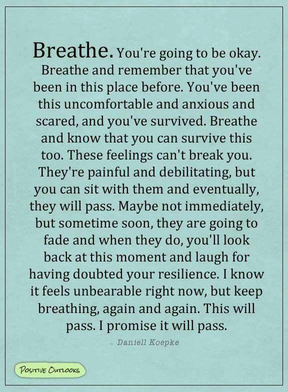 Just Breathe ❤️