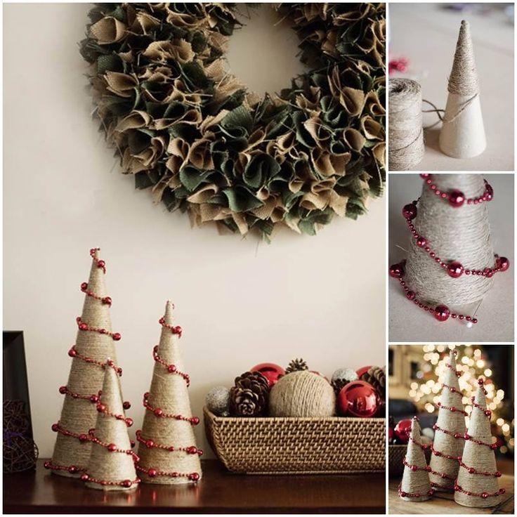 Mini Christmas Trees diy christmas diy crafts christmas crafts christmas ideas christmas trees christmas diy crafts