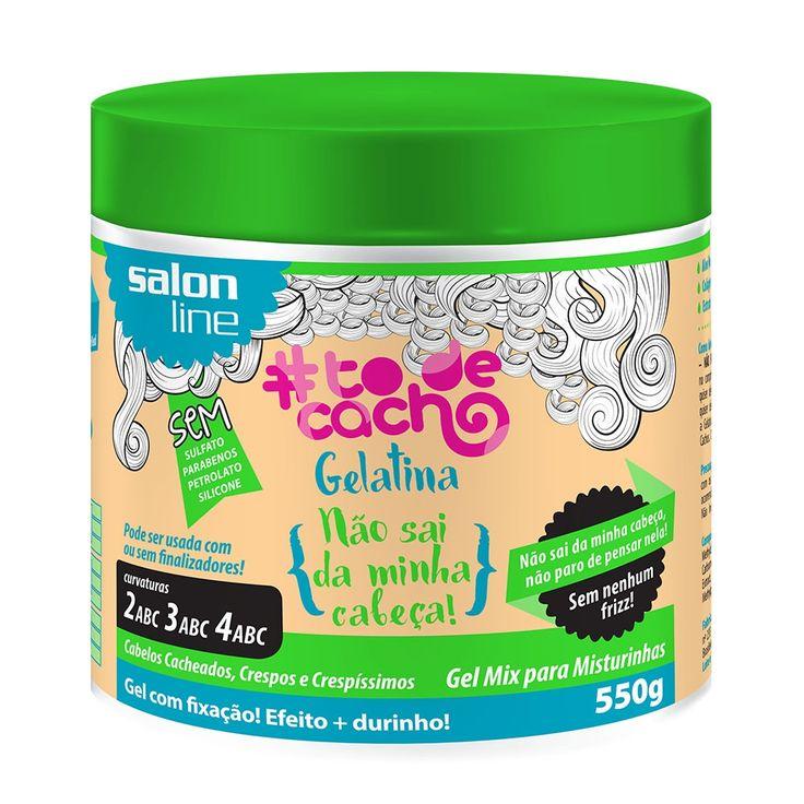 GELATINA – NÃO SAI DA MINHA CABEÇA! #TODECACHO 550g - SALONLINE - Loja da Salon Line