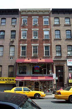 Chester A. Arthur Home - building is designated a National Historic Landmark - Lexington Av., NY City