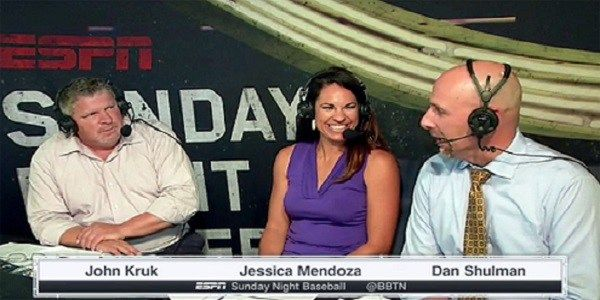 ICYMI: Jessica Mendoza gets a full-time spot on Sunday Night Baseball  via  bbstmlb.com & @OakAsSocksGrl <--- follow me/my blog on Twitter, IG, FB & G+!