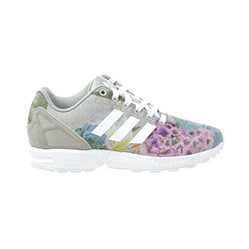 womens adidas black & white zx flux verve digital trainers nz
